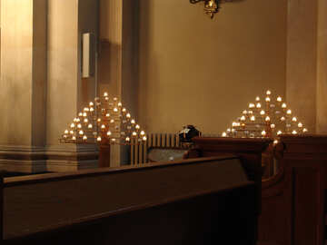 Church candles №11487