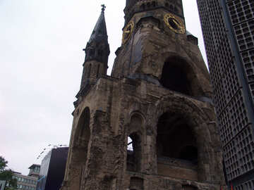 Ruins of the church in Berlin №11893