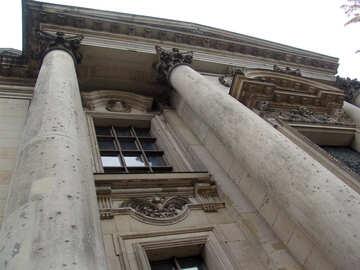 Facade with columns №11740