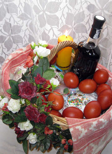 Easter traditional basket №11474
