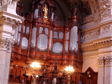 Organ in the cathedral №11599
