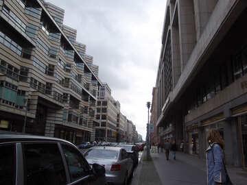 Parking along the sidewalk №11934