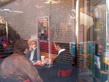 Leute  in  Kaffee №11037