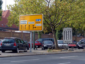 A road sign in Europe №11554