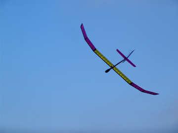 Glider in the sky №11466
