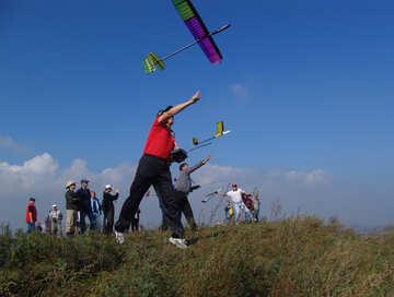 Launch glider №11457