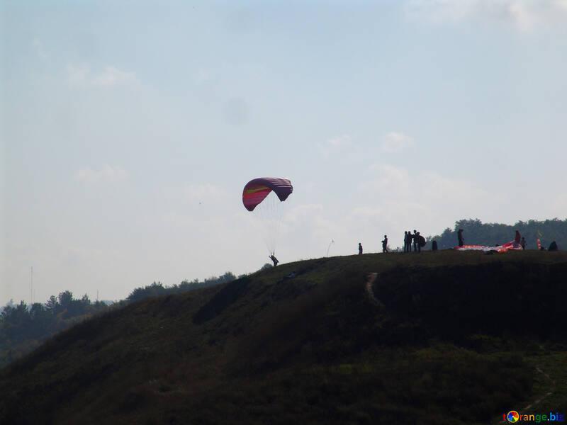 Parachute jumping №11445