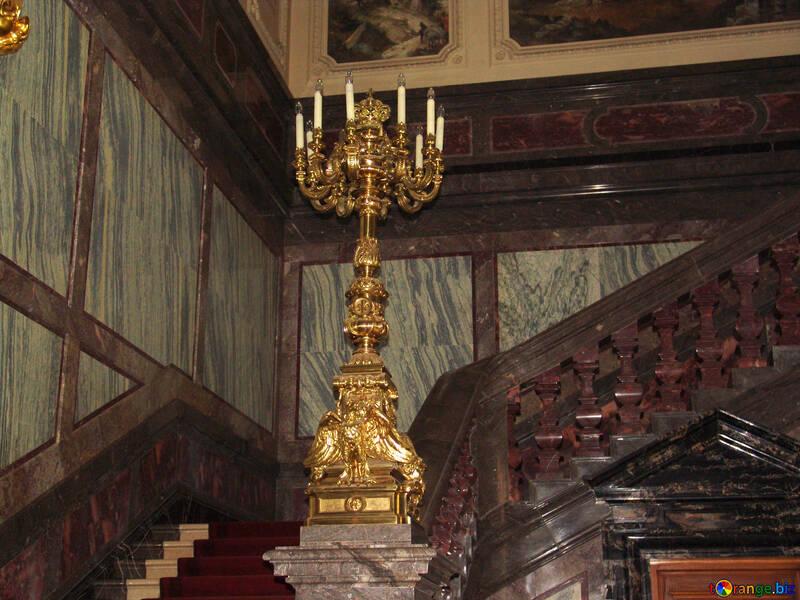 Golden candlestick №11820