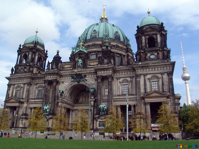 Cathedral in the heart of Germany №11829