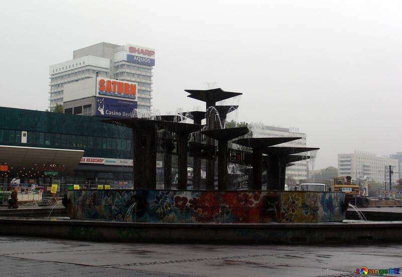 Modern fountain №11555