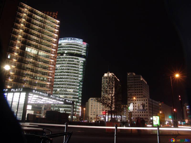Berlin at night №11748