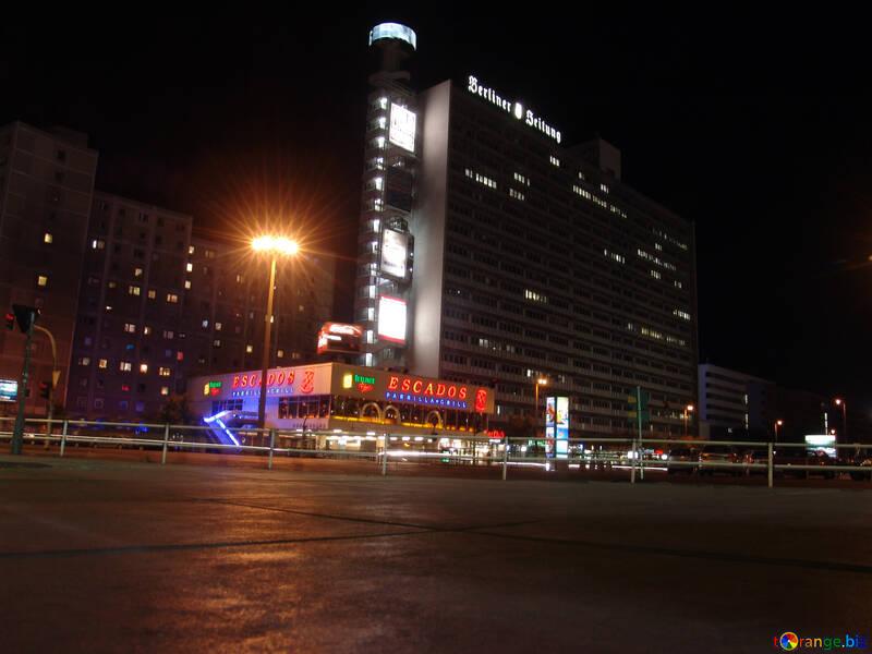 Night streets of Berlin №11684