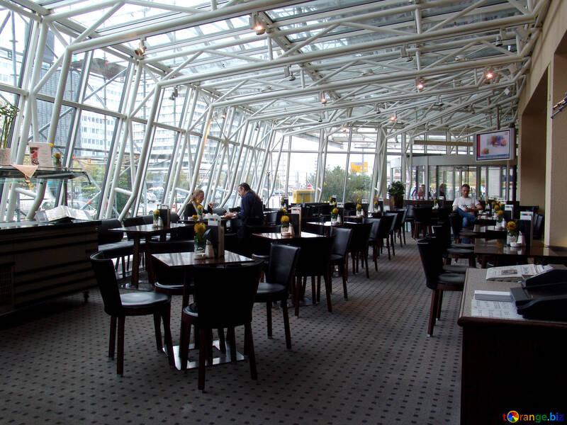 Cafés Metallrahmen №11715