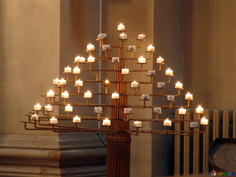 Candele in chiesa №11480
