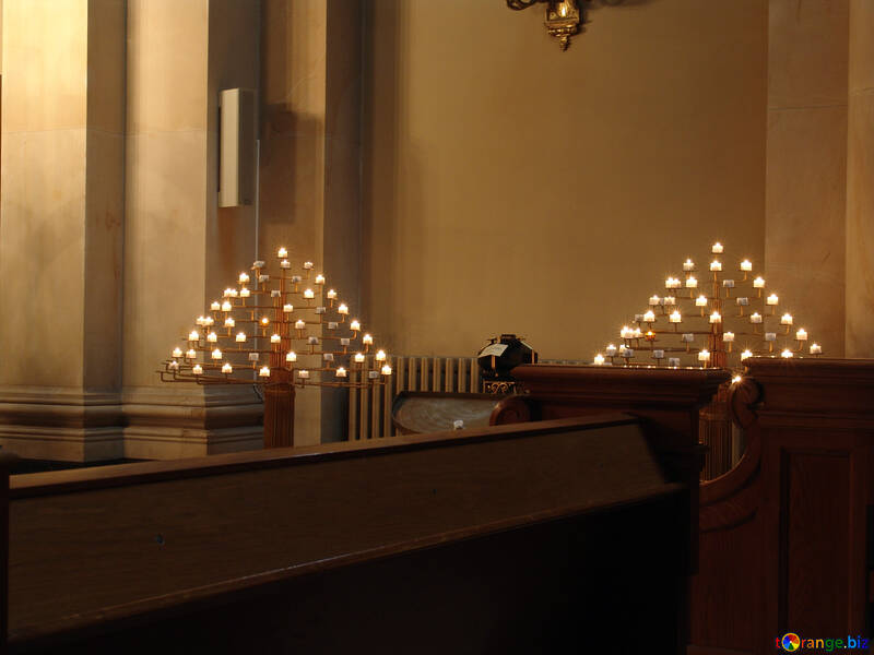 Candele in chiesa №11487