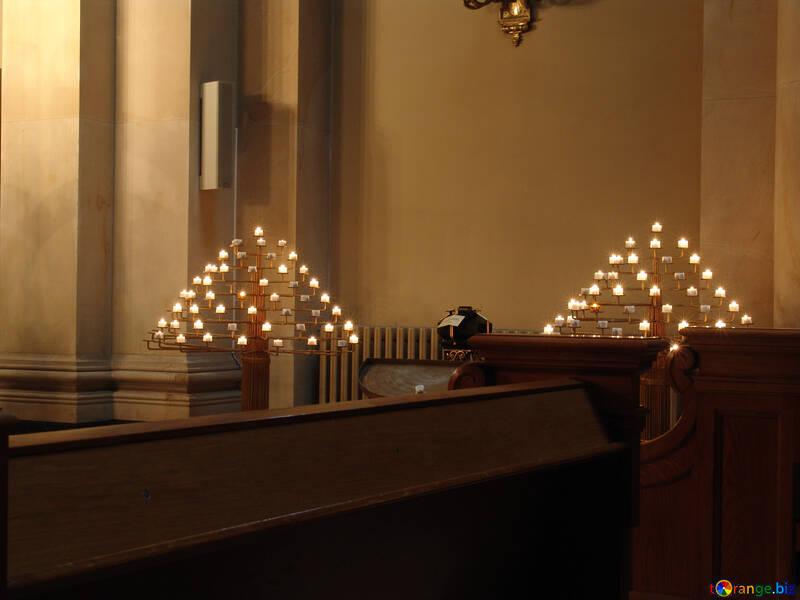 Church candles №11487