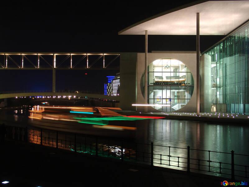 Night walk on the ship №11574