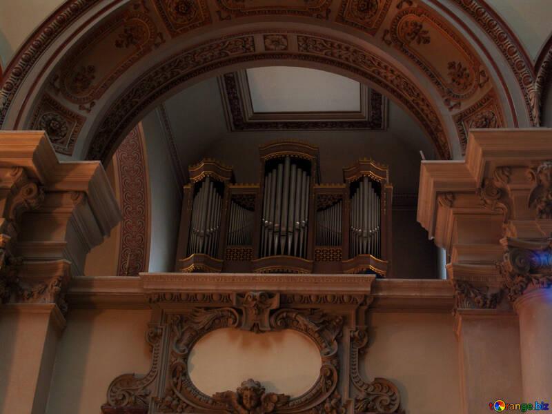 Musical instruments pipe organ organ berlin № 11606
