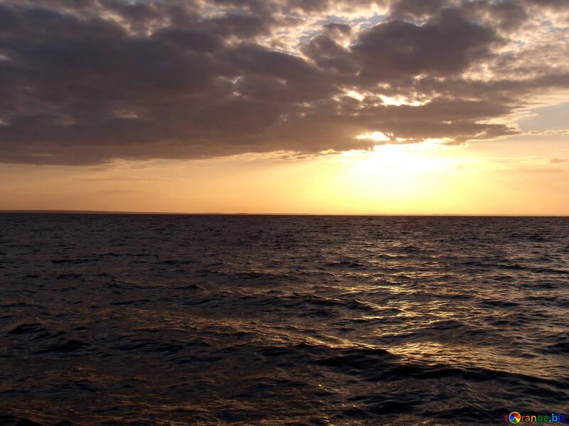 Sunset sun №11331