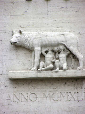 Bas Capitoline Wolf №12593