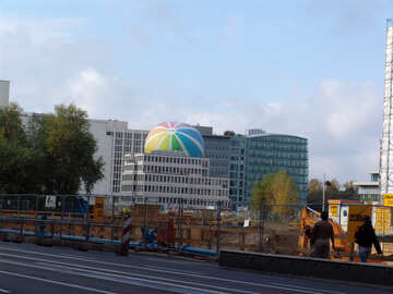 Balloon in Berlin №12039