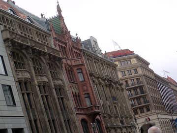 Gothic facade №12096