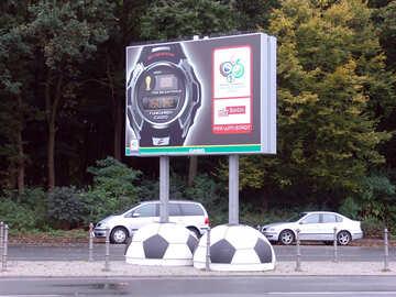 Реклама спортивных часов №12097