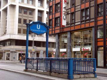 Eingang zur u-Bahn №12165