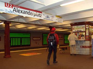 Subway in Berlin №12080