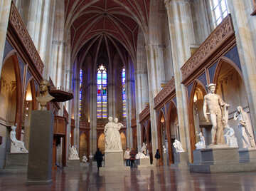 Sculptures from Fridrihsverdershe-Kirche №12176