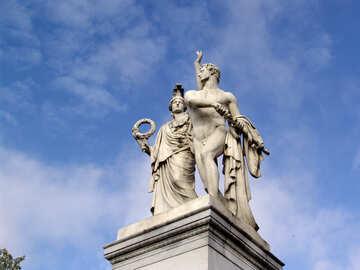 Antike griechische Göttin №12006