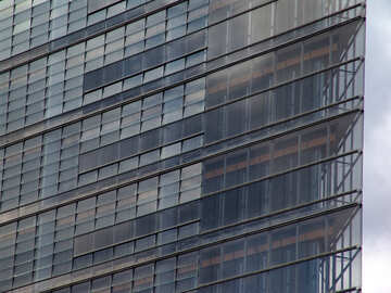 Edificio trasparente №12083