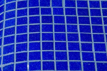 Blue tiles texture №12883