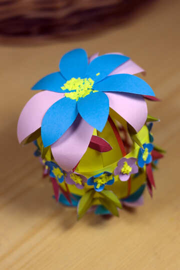 Craft - paper Easter egg №12266