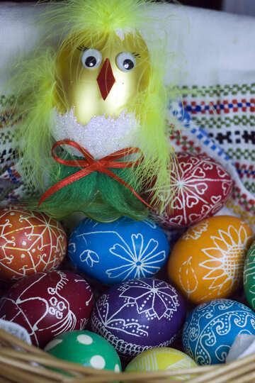 Decor Gold Eggs  №12278