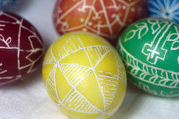 Yellow Easter egg №12262