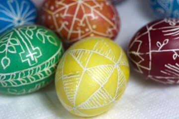 Homemade Easter Eggs №12256