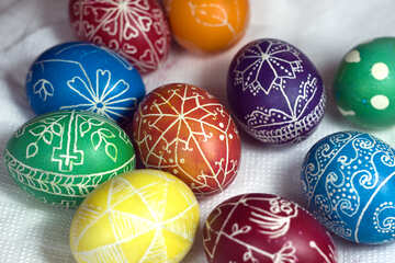 Colored Eggs №12276