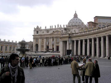 Tourists at Vatican №12619