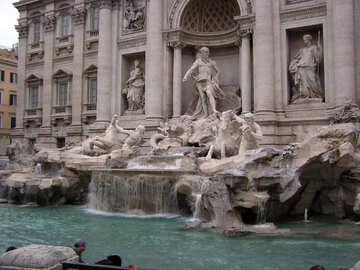 Roman fountain №12482