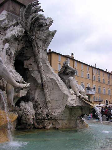 Roman fountain №12543