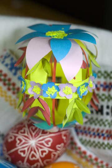 Paper Easter Egg №12248