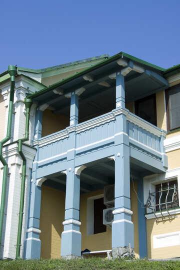 Antique balcony №12868