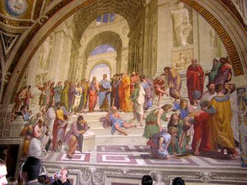 Church fresco №12446