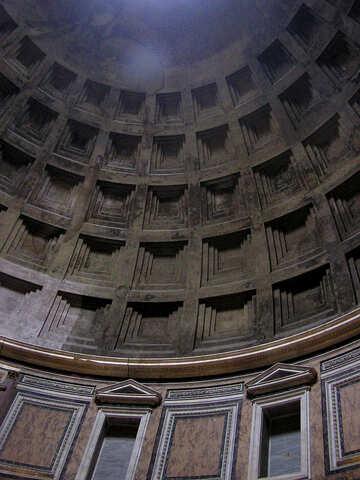 Italian ceiling №12538