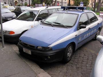Ein Polizeiauto №12321
