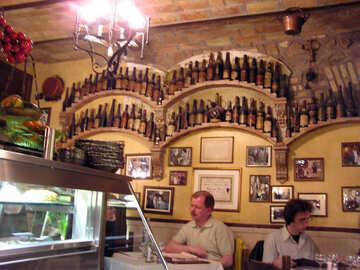 Los hombres en el bar italiano №12595
