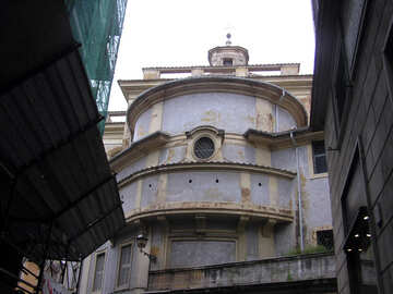 Italian blue facade №12302