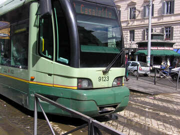 Tranvía italiano №12401