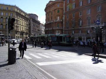 Tranvía en Roma №12460